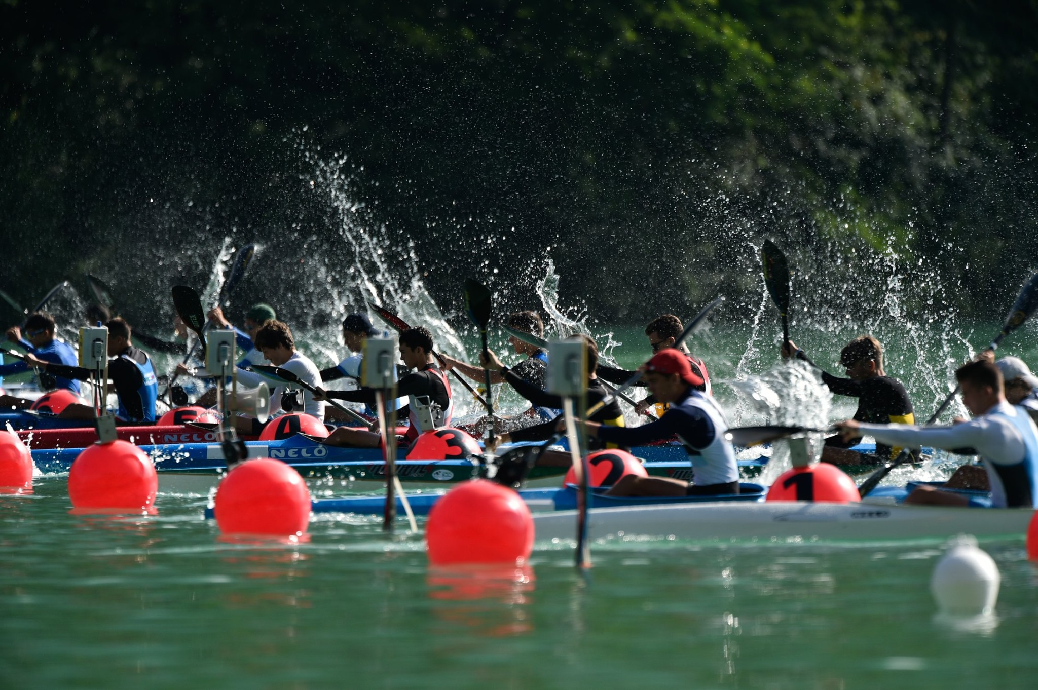 Auronzo International canoe sprint