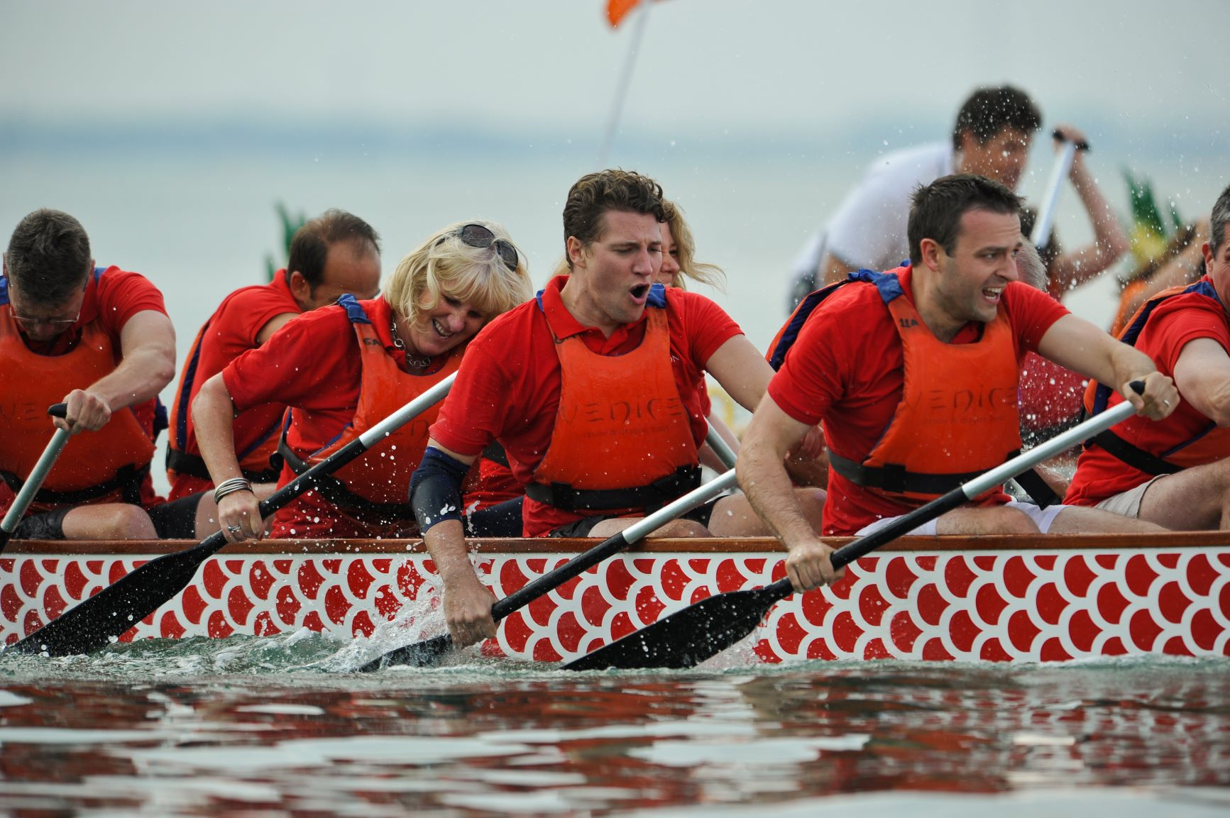 Venice Canoe Team Building Dragon Boat